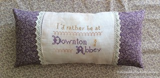 Downton Abbey by The Sampler Girl