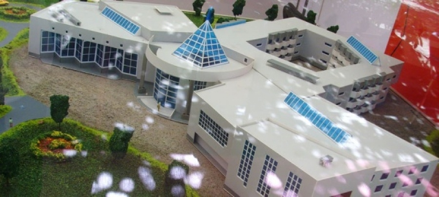 Строительство грязелечебницы в селе Белая Глина