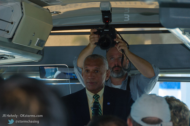 Fri, 11/02/2012 - 11:05 - NASA Administrator Charles Bolden visited our group and took time to answer our questions. - November 02, 2012 11:05:30 AM - , (28.5243,-80.6806)