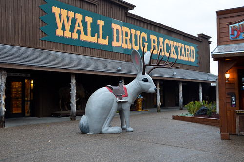 Wall Drug...like a strip mall that's connected