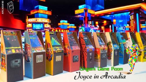 Joyce in Arcadia - The Origami Game Room