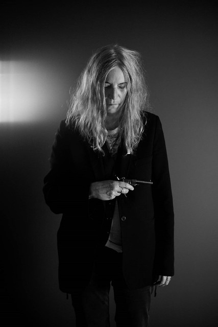 Patti Smith Making Off Tryptique (c) Pierre Liebaert