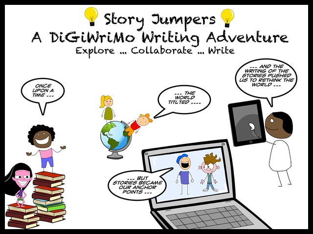 Story jumpers at digiwrimo