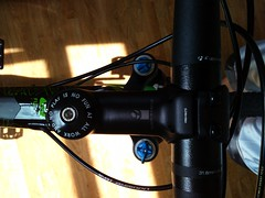 Bontrager Race Lite stem 80mm 7 deg rise
