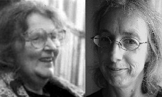Sally Evans and Elizabeth Burns