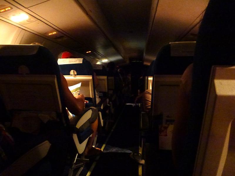 6 - Carnet de Thaïlande - 19 - Dans l'avion pour Bangkok