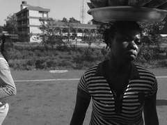 Roadside Hawker in Ghana