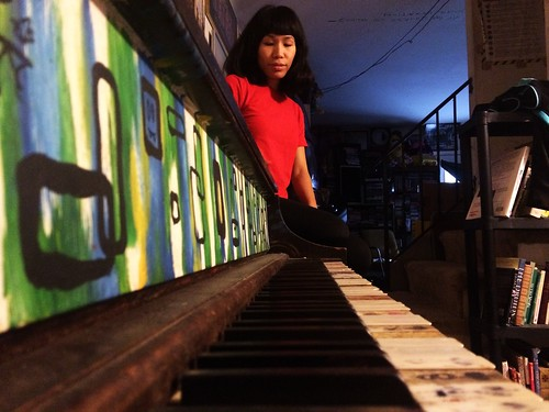 Ana and Piano (October 30 2014)