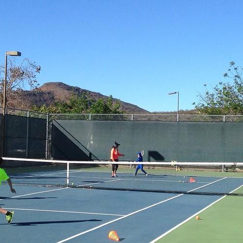 Halloween tennis. 86F ninja.