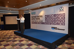 Matrix Organized a One Day Product Expo at Hyderabad with Partner Vigilant Technologies
