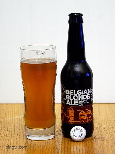 Belgian blonde ale