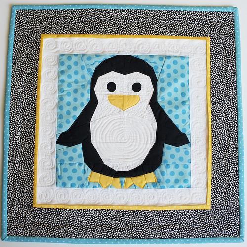 Little Penguin Mini Quilt