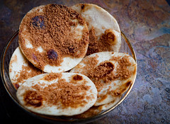 Cinnamon Sugar Tortilla Delight