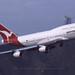 """Boeing, 747-438, VH-OJR, """"Qantas"""", VHHH, Kai Tak, Hong Kong"""