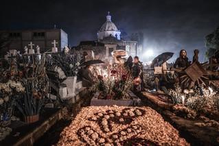 Día de los muertos, Mixquic