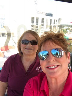 Bridget McNeill and Debbie Lawrence at State Fair 10.18.16