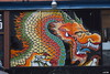 dragon - street mural