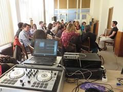 Áprilisi foglalkozás és hangkiállítás 2016.04.02.