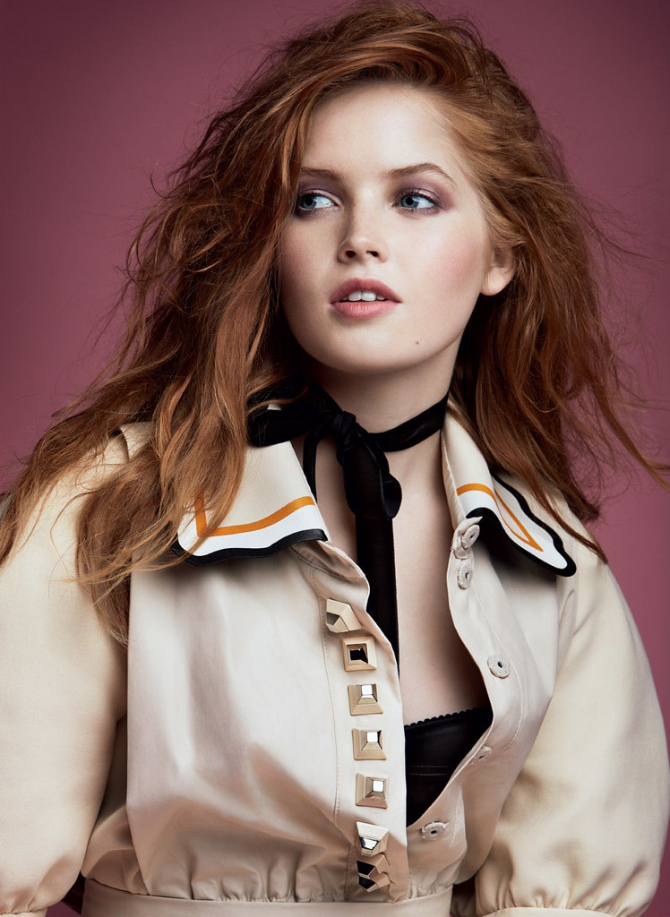 Элли Бамбер — Фотосессия для «Vogue» RU 2016 – 2