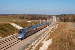 05 décembre 2016 TGV D 739 Train essai LGV SEA Marsas (33) - Photo of Cavignac