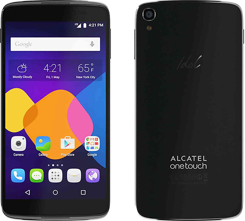 Alcatel OneTouch Idol 3 full scale product image
