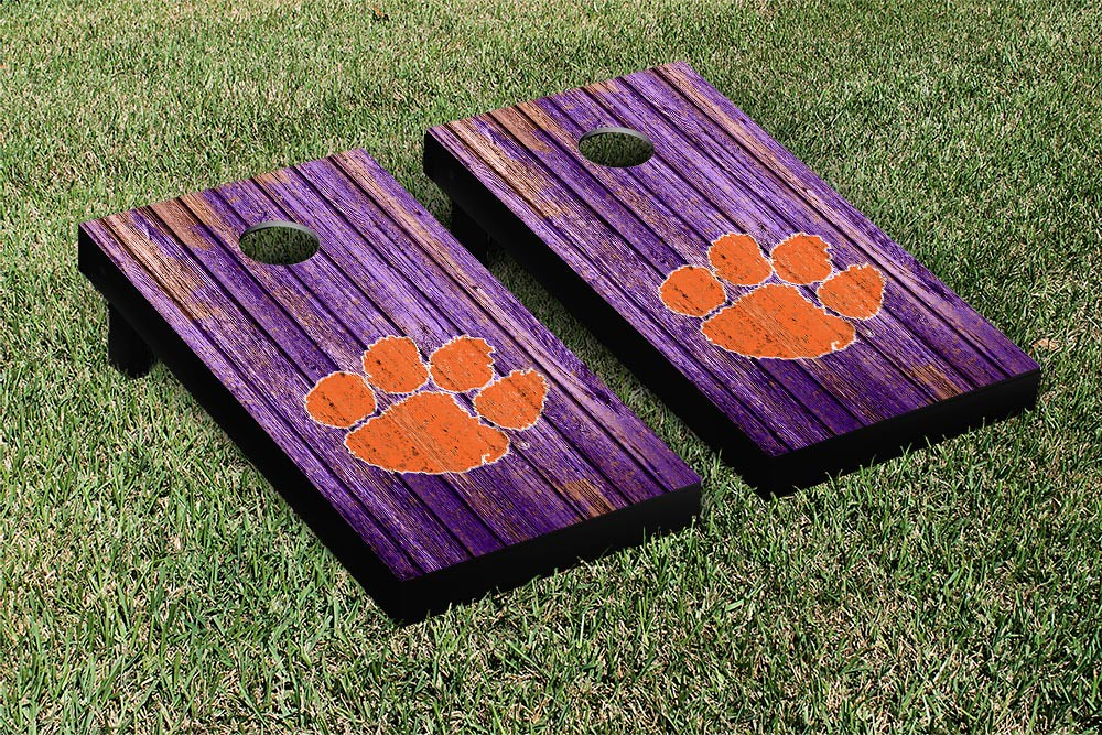 Clemson Tigers Weathered Version