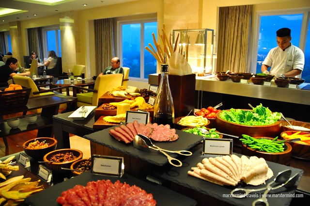 Access to Executive Lounge at Manila Marriott Hotel