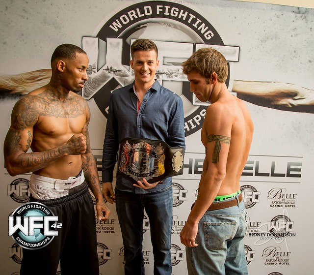 WFC 42 Weigh-Ins August 21st, 2015