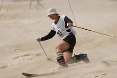 Monte Kaolino - písek přede mnou, písek za mnou