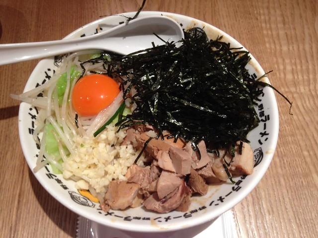 Mix Ramen Lunch @Daifukuya Ramen, Xingkong Guangchang, Gubei, Shanghai
