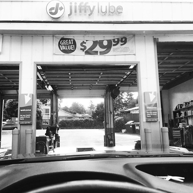 9:45 am Returning to Jiffy Lube because they said they filled all the fluids but did not fill all the fluids. #adayinthelifephotochallenge