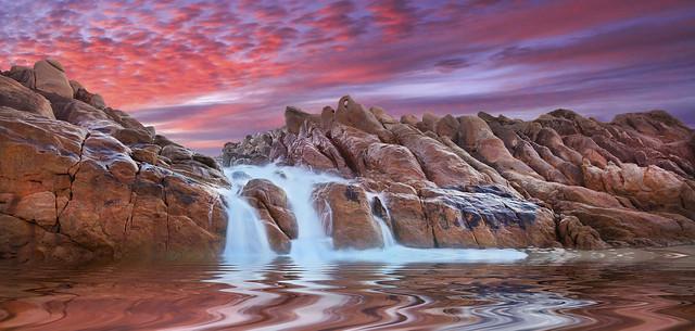 Spa Pool, Wyadup Rocks, Western Australia