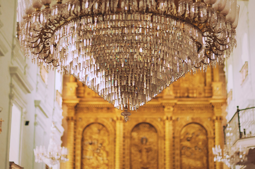 Chandelier in Old Goa