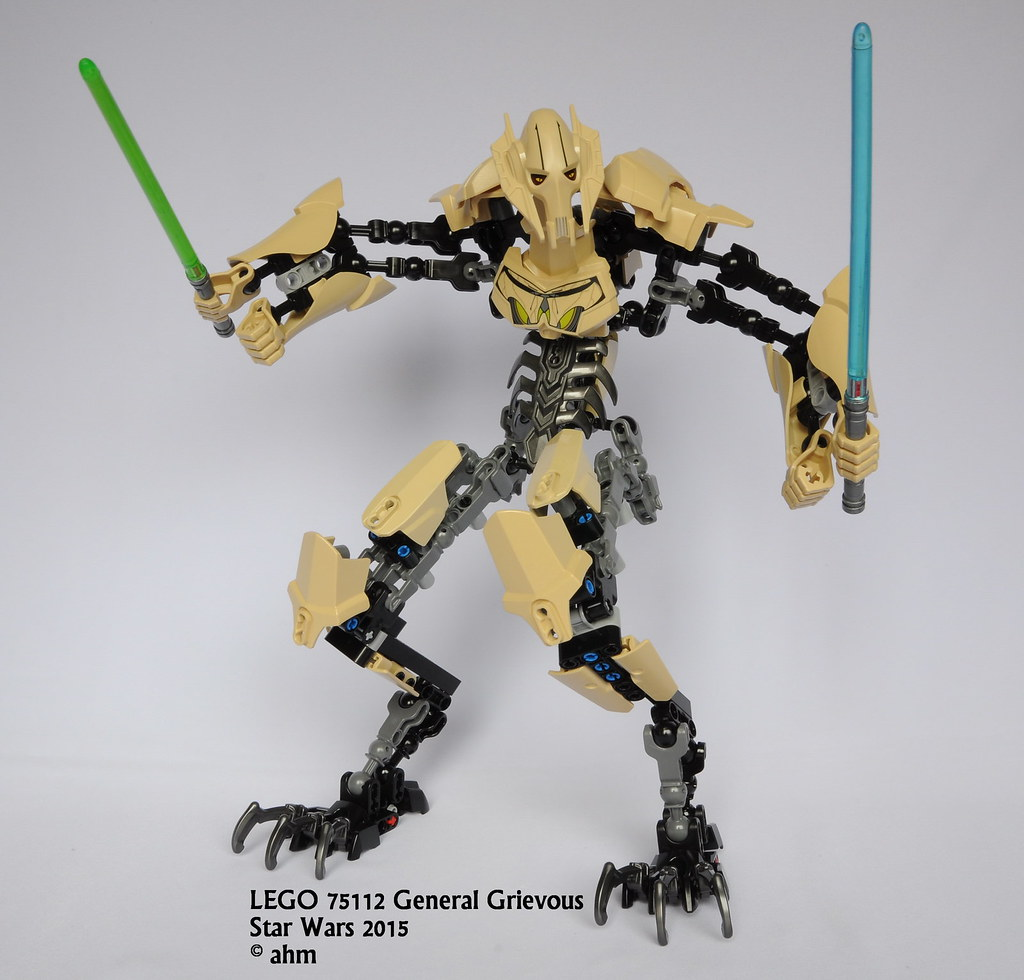 how to get general grievous in lego star wars