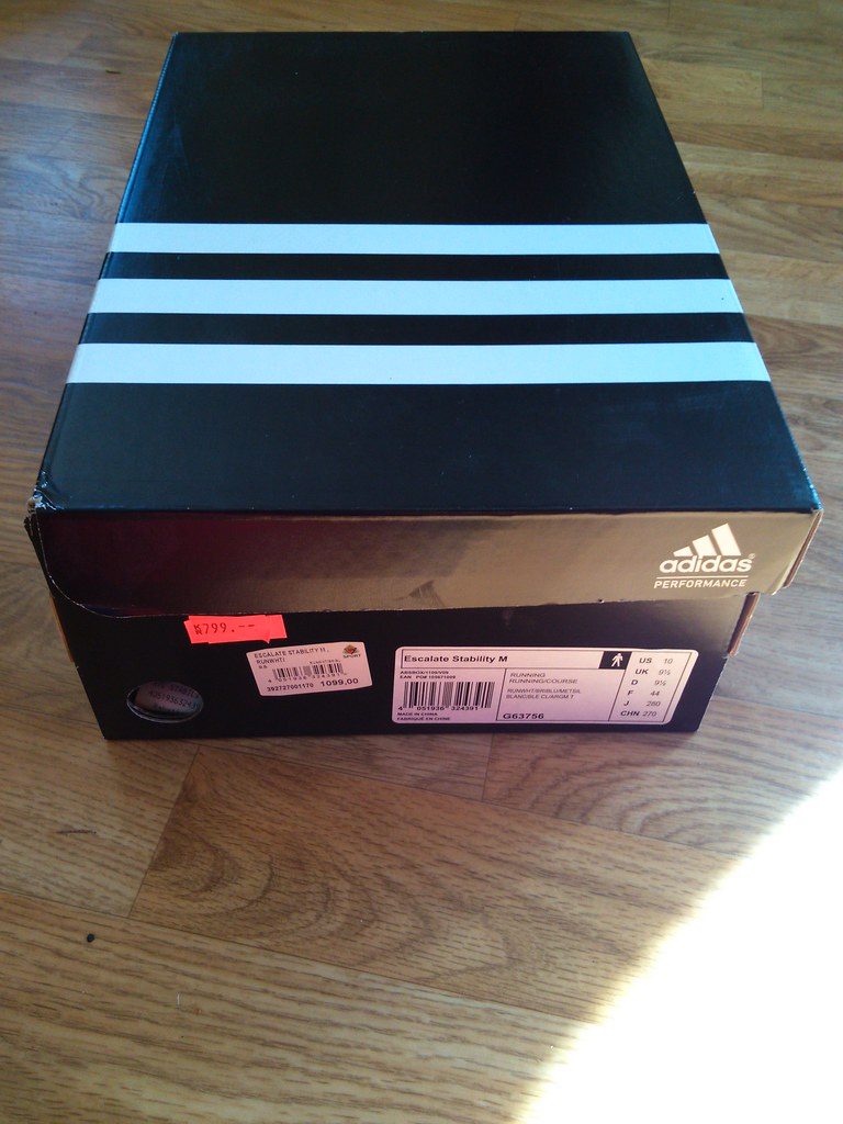 IMG_20150906_151Adidas performance Escalate stability running shoe box 632