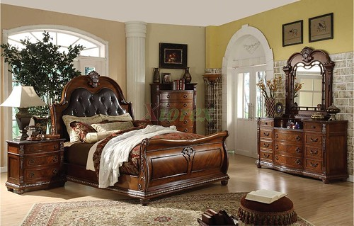 Traditional Sleigh Bedroom Furniture