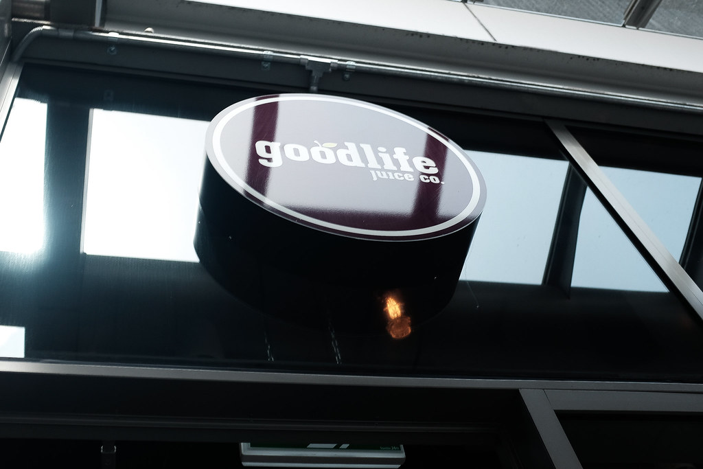 Goodlife Juice Co in Fort Street Auckland Food Blog sign