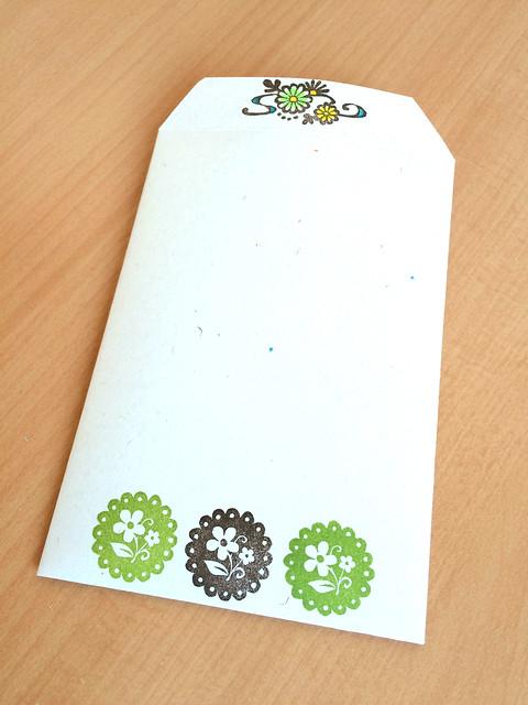 フリルフラワー+菊レターセット2