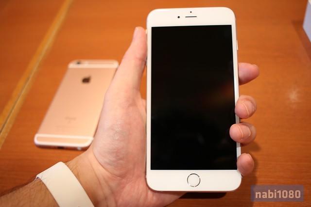 iPhone 6sローズゴールド16