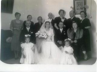Rutigliano-Auguri i primi 100 anni di Francesca-Il  suo matrimonio con quasi tutta la famiglia
