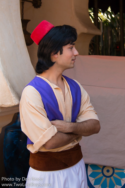 Meeting Aladdin and Jafar