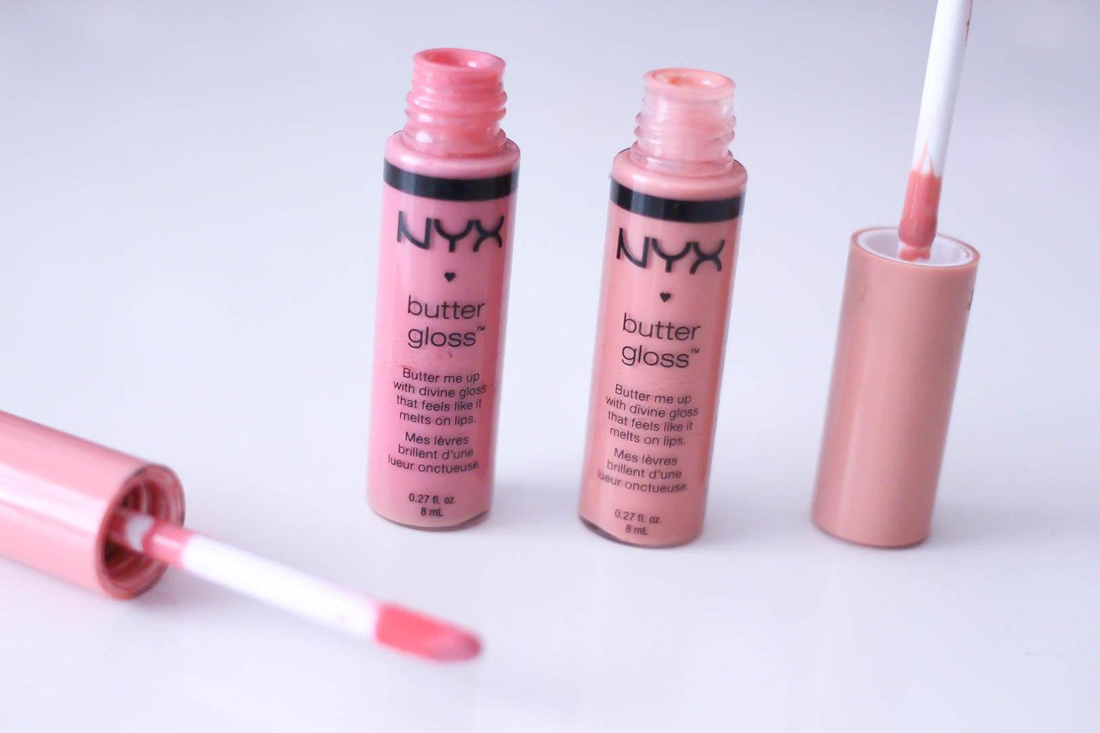 nyx butter lipgloss_