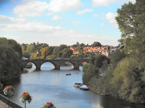 Welsh Bridge. Shrewsbury
