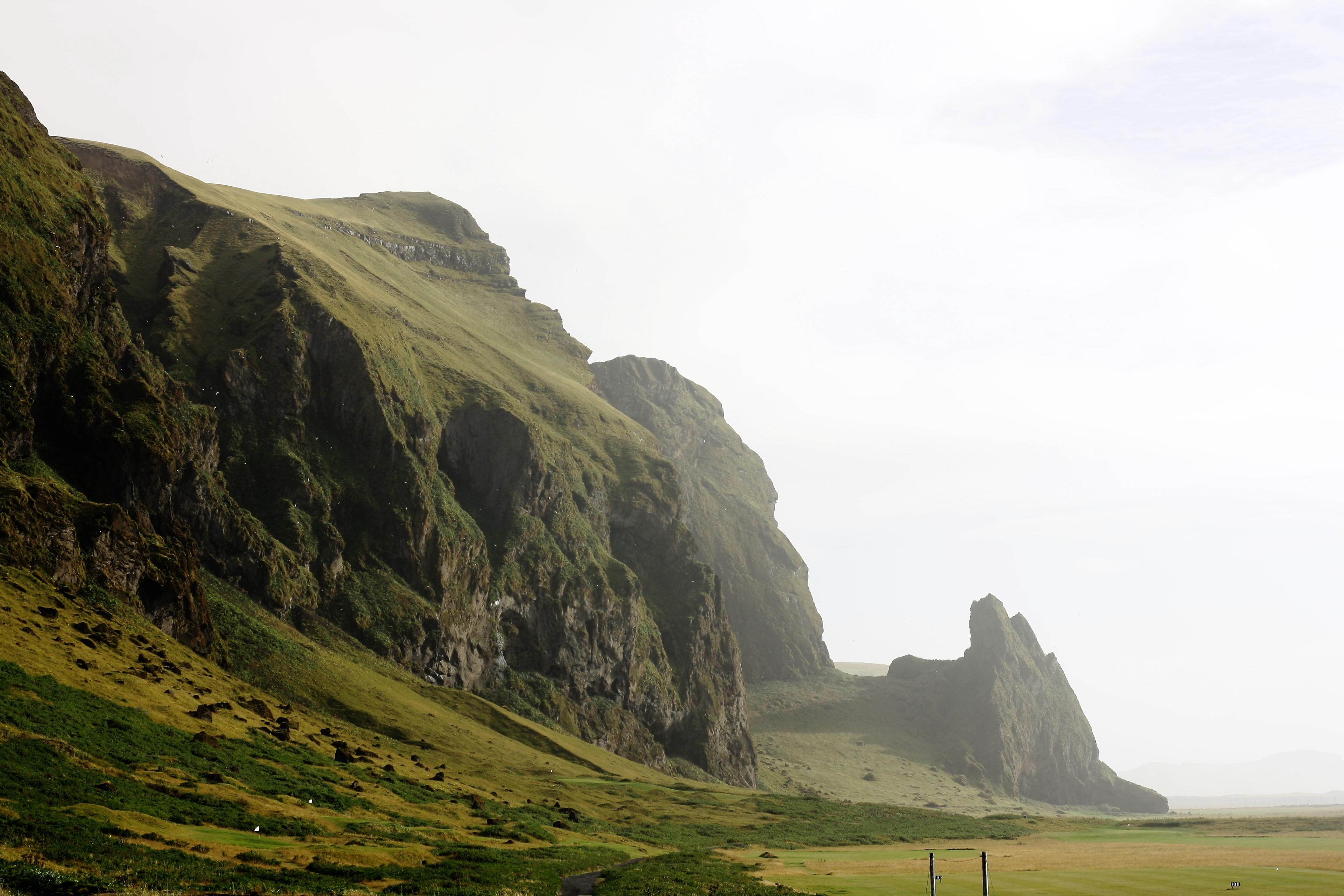 Iceland Vik campsite
