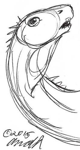Draw Dinovember 11.9.15 - Awe