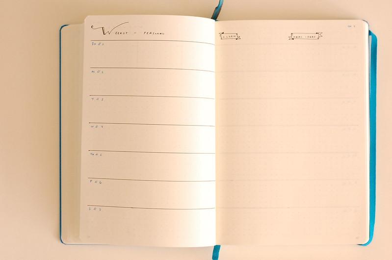 November personal weekly tasks week 1