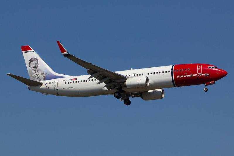 Norwegian - B738 - LN-DYZ (1)