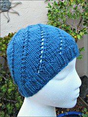 Blue No-Noro Hat, another view