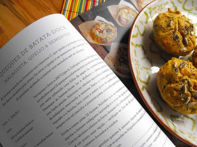 Queques de batata-doce - Receitas saudáveis, Jamie Oliver