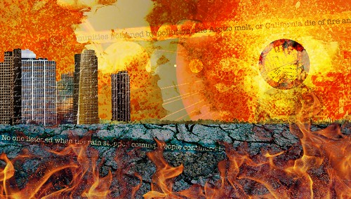 Illustration of Apocalyptic Future